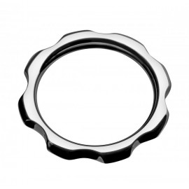 Gear Head 1.75 inch Metal Cock Ring
