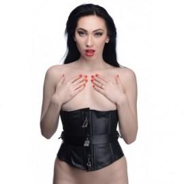 Strict Leather Large Locking Corset