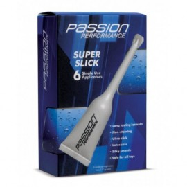 Passion Performance Super Slick Gel .17oz Shooter 6 Pack