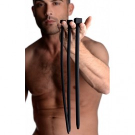 Bolted Deluxe Silicone Urethral Sounds