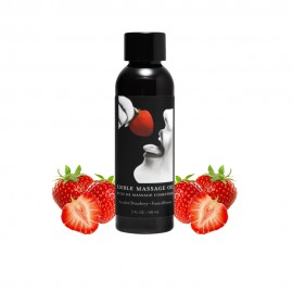 2 Ounce Edible Strawberry Massage Oil