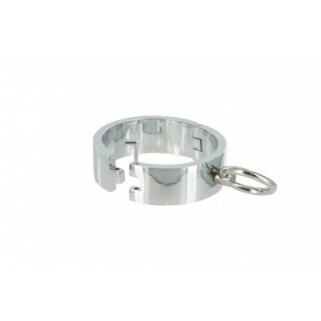 Chrome S/M Slave Bracelet