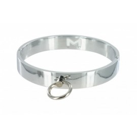 Chrome M/L Slave Collar