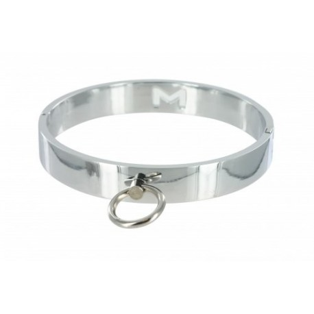Chrome M/L Slave Collar