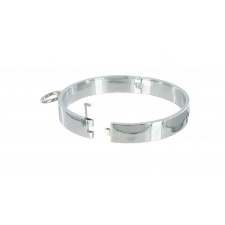 Chrome S/M Slave Collar