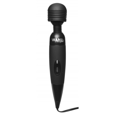 Wand Essentials Black MyBody Massager with Attachment