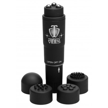 VelvaFeel Black Turbo Massager
