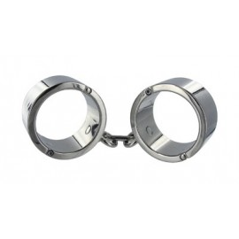 Chrome M/L Wrist Shackles