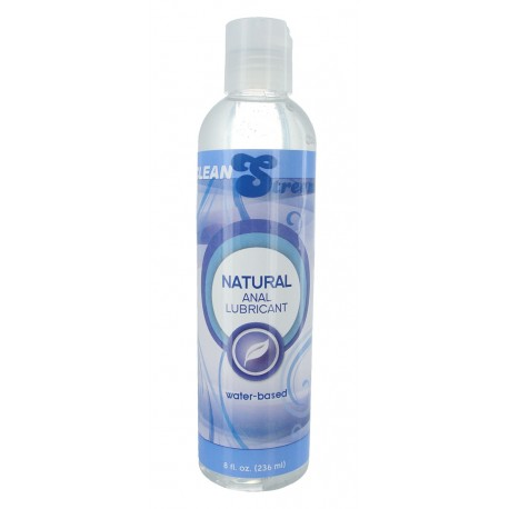 CleanStream Water-Based Anal Lube - 8 oz.