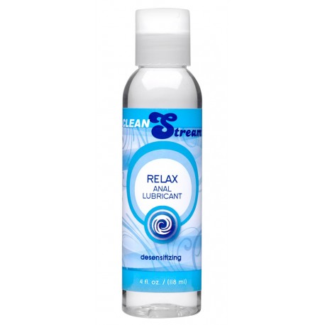 CleanStream Relax Desensitizing Anal Lube - 4oz.