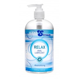 Clean Stream Relax Desensitizing Anal Lube - 17 oz.