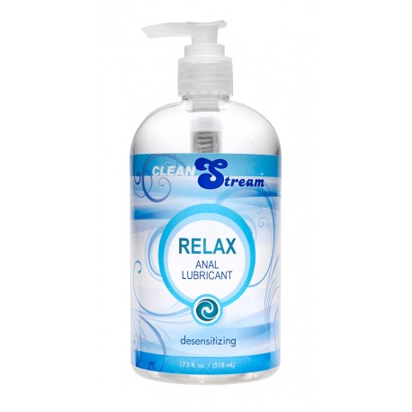 Clean Stream Relax Desensitizing Anal Lube - 17 oz.