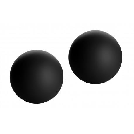 Marquis Velvety Black Ben Wa Balls