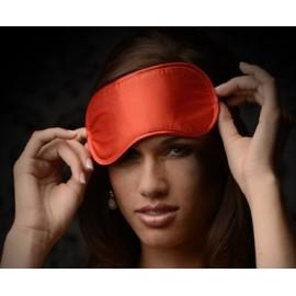 Le Boheme Red Satin Blindfold