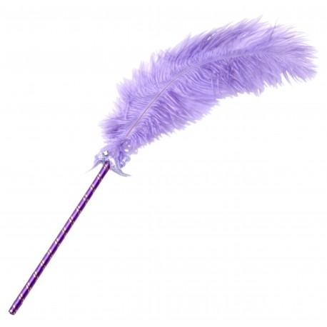 Frisky Purple Feather Tickler