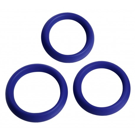 3 Piece Silicone Erection Rings