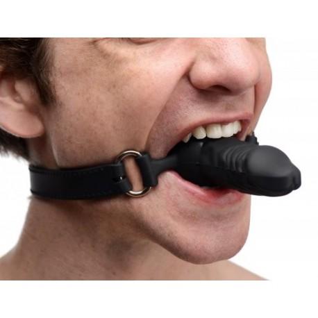 Suppressor Silicone Face Banger Gag