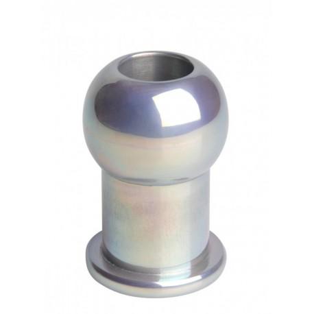 Hollow Aluminum SM Anal Plug