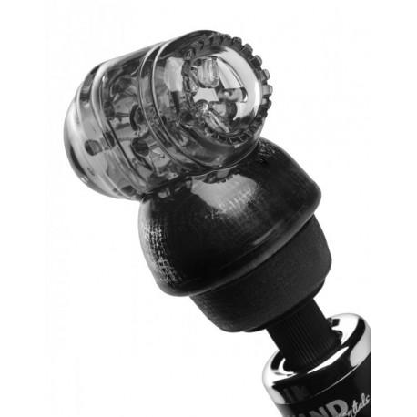 Black Vibra Cup Male Masturbation Wand Attachment