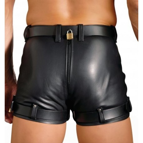 Strict Leather 34 inch waist Chastity Shorts