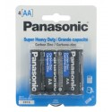 Panasonic 4 Pack AA Batteries