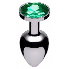 Emerald Jewel Butt Plug