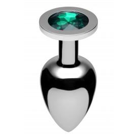 XL Emerald Jewel Butt Plug