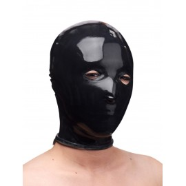 Black Rubber Slave Hood