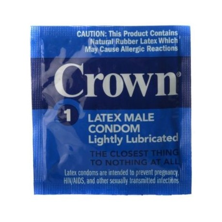 100 pack Crown Condoms