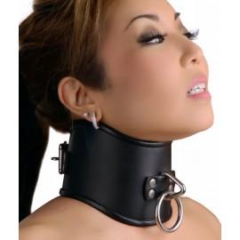 Strict Leather Medium Locking Posture Collar