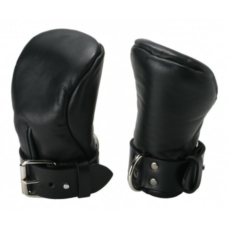 Strict Leather Deluxe ML Padded Fist Mitts