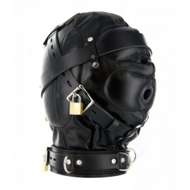 Strict Leather SM Sensory Deprivation Hood