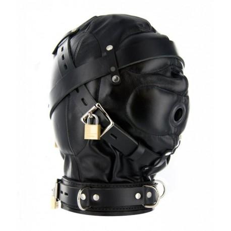 Strict Leather SM Sensory Deprivation Hood