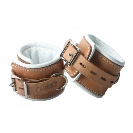 Strict Leather Padded Hospital Style Restraints- Ankle