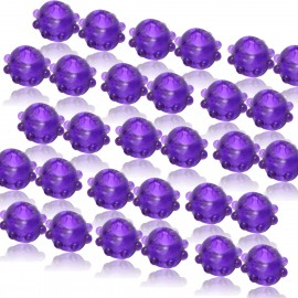 48 Pack of 2 Purple Gummy Cock Rings