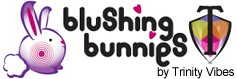 Blushing Bunnies logo