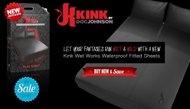 Let Your Fantasies Run Wet and Wild with a New Kink Set Works Waterproof Fitted Sheet Today and Save $50.00