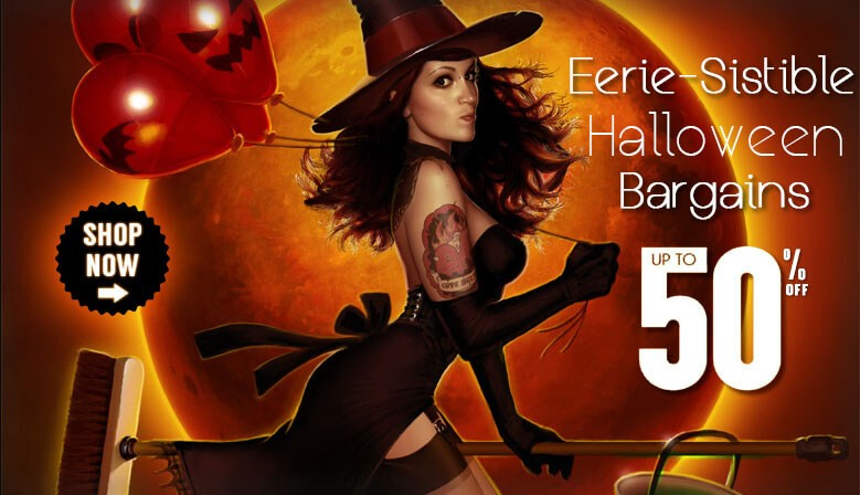 2016 Halloween Un-Boo-Lievable Halloween Sale