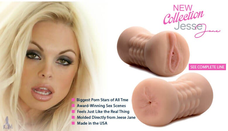 Experience Sex with a Real Award Winning Porn Star Jesse Jane!